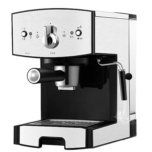 Cafetera Tipo De Bomba,1050W 15 Bar Semiautomático Exprés para ...
