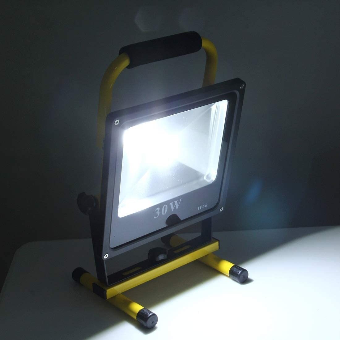 ISDY 30W 2700LM Lifesaving Waterproof LED Rechargeable Ultra-Thin Handheld Floodlight AC 100-240V