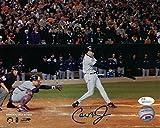 Cal Ripken Jr Autographed Baltimore Orioles 8x10 Photo (Last at Bat) JSA