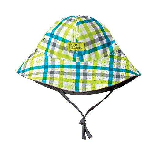 y Boys Reversible Sun Hat 2T Grey Plaid (Multi Plaid Reversible Hat)