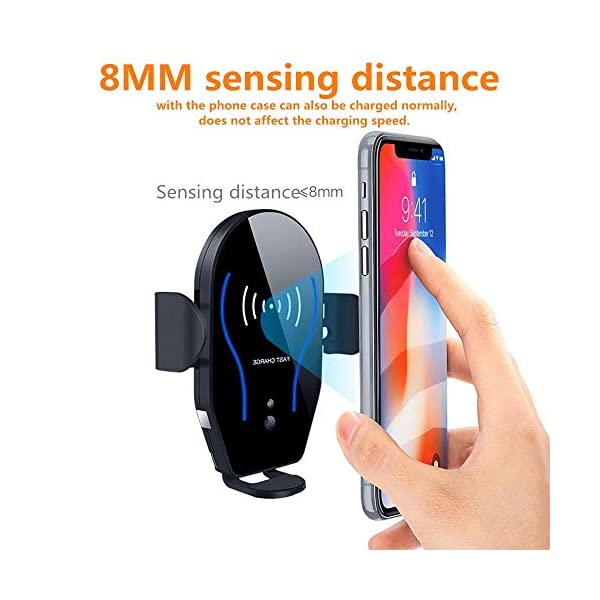 Wireless-Car-Charger-KG8-10W-Qi-Fast-Charging-Auto-Clamping-Car-MountWindshield-Dashboard-Air-Vent-Phone-Holder-Compatible-with-iPh-Xs-MAXXSXRX88-Samsung-S10S10S9S9S8S8