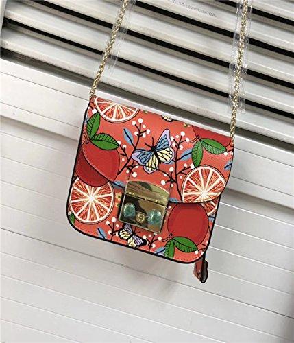 AASSDDFF Mujeres Bolso de Mensajero genuino Mini Flap Crossbody Bolsos de Las Señoras Pequeñas Embragues Bolsa de Cadena Femenina Niñas,Verde Claro,18Cm8Cm12Cm 18cm8cm12cm amarillo
