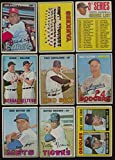 808 Miscellaneous - 1967 Topps Baseball G/VG avg low grade lot of 220 different cards BV 808 48697