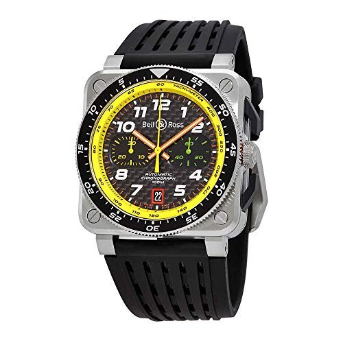 Bell and Ross Carbon Fibre Chronograph Dial Men's Limited Edition Watch -
