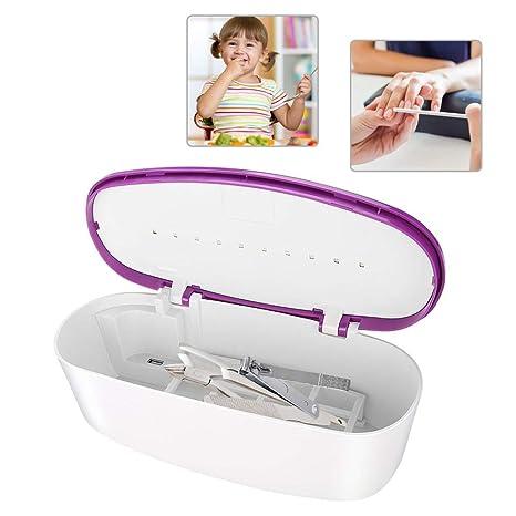Esterilizador de UV Máquina desinfectante profesional para utensilios de maquillaje como cortaúñas, lima, cepillo