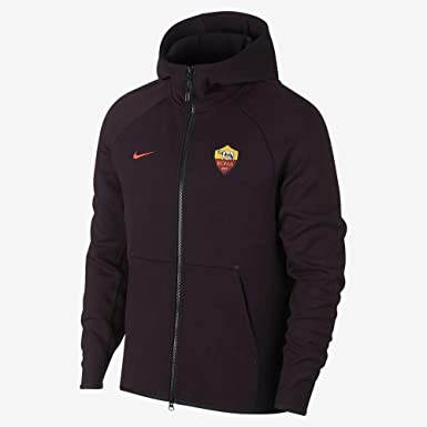 Nike Roma Techfleece Hoodie AUT, Felpa con Cappuccio Uomo
