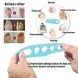 UMITOM Toe Separators Gel Toe Stretcher Yoga