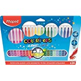 Caneta Hidrográfica, Maped, Color Peps Long Life, 845022LM, 24 Cores