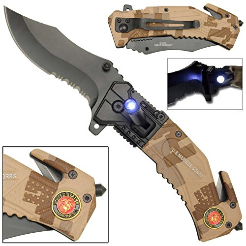 Flashlight Tactical Rescue Pocket Marines product image