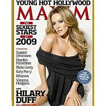 Maxim Magazine: Hilary Duff (January 2009)