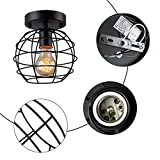 Create for Life Small Ceiling Light Fixture Metal