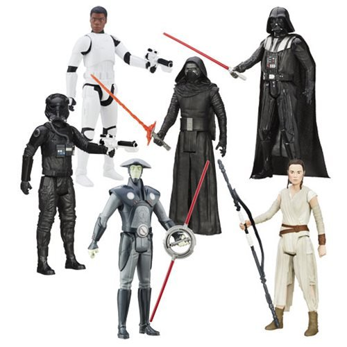 Star Wars TFA Hero Series 12-Inch Action Figures Wave 4 Case