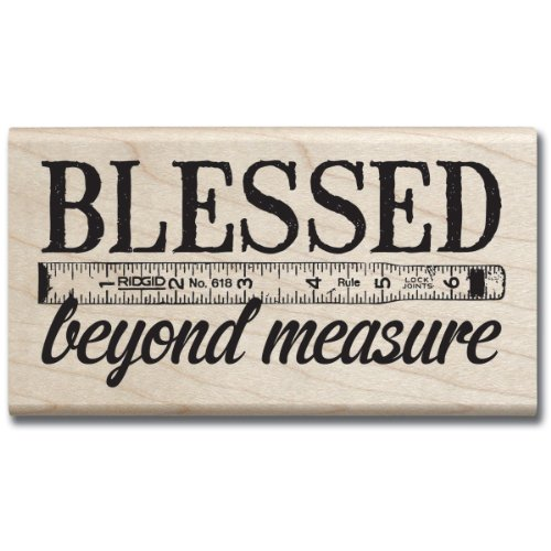 - Hampton Art 7 Gypsies Blessed Beyond Measure Rubber Stamp