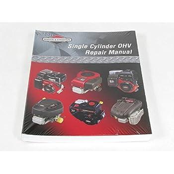 amazon com briggs stratton 272147 lawn garden equipment engine rh amazon com Repair Manuals Yale Forklift Yamaha Service Manuals PDF