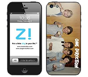 Zing Revolution One Direction Premium Vinyl Adhesive Skin for iPhone 5 - Retail Packaging - Turntables