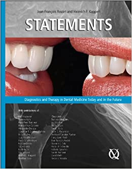 Book Statements: Diagnostics and Therapy in Dental Medicine Today and in the Future