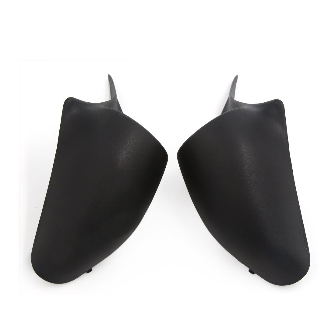 uxcell 2 Pcs Black Car Horn Dustproof Cover for 2010-2011 Honda Jazz FIT
