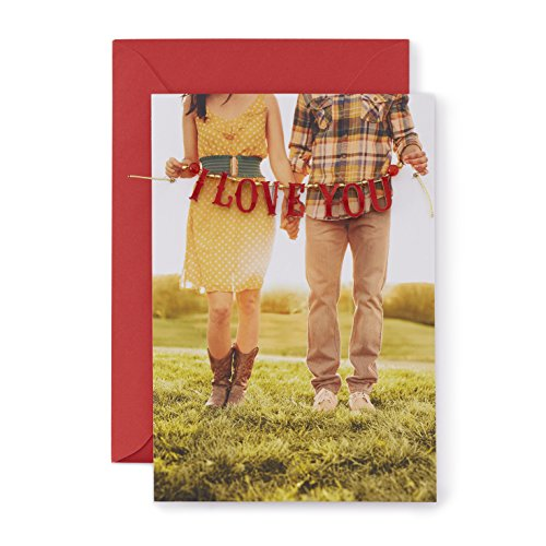 Hallmark Signature Collection Love Anytime Greeting Card: I Love You