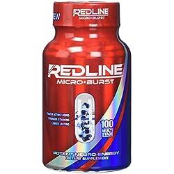 VPX Redline Microburst Multi-stage Delivery System Thermogenic Fat Burner, 100 Capsules
