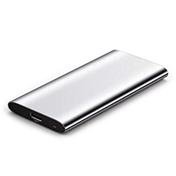 ZXR Disco Duro móvil de Estado sólido SSD 512g Tipo-c3.1 Disco ...