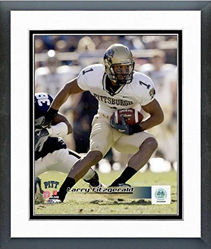 Larry Fitzgerald Pittsburgh Panthers 2003 Action Photo (Size: 12.5