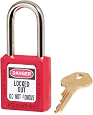 Master Lock 410 Xenoy Safety Padlock with Short Body, 1/4