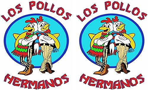 Breaking Bad - Los Pollos Hermanos - 2 Iron On Heat Transfers 5