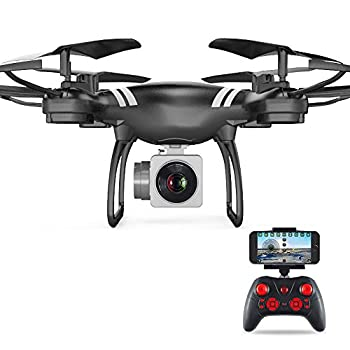 Choosebuy 360 Degree Rollover RC Drone with HD Camera, 2.0 MP Wide Angle Camera 3D FPV 2.4G/One Key Return/Quadcopter Continuous Rolling/Headless Mode Toy Outdoor Gift for Adult