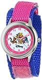 Disney Kids' W000100 Winnie the Pooh & Friends Stainless Steel Time Teacher Watch