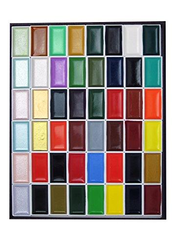 48 color paint set - 9