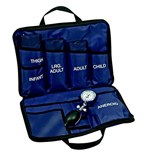LINE2design Blood Pressure Aneroid Kit System - Kit-5 Large Adult-Child BP Cuffs