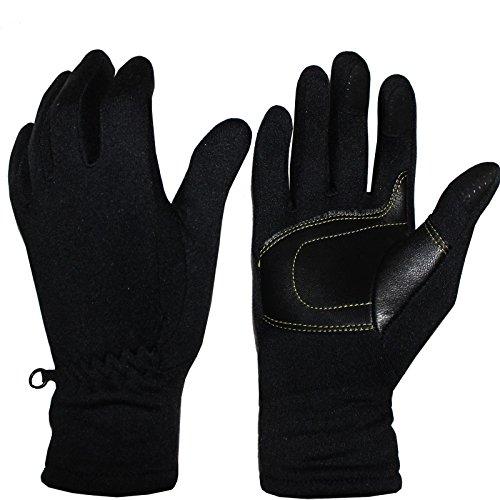 COX SWAIN Softshell Handschuhe POLAR mit Touchscreen Handschuhe, Farbe: Schwarz, Größe: M