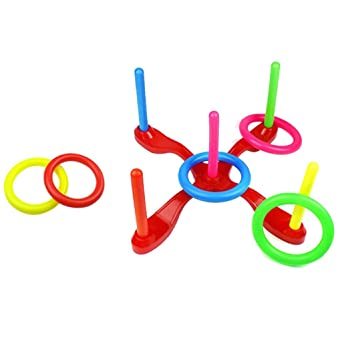 Amazon | Ring Toss Game Set Co...