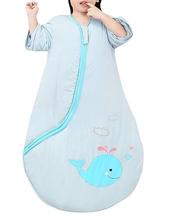 Zhhlaixing Bebé Dormir Saco Recién Nacido Algodón Usable Manta ...