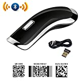 PowerRider 2D Bluetooth Barcode Scanner Mini USB QR / PDF417 / Data Matrix Barcode Reader CCD Wireless Bar Code Reader for iPHONE/ Android /windows
