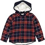 Polarn O. Pyret Lined Urban Lumberjack Shirt (2-6YRS) - 3-4 Years/Dark Sapphire