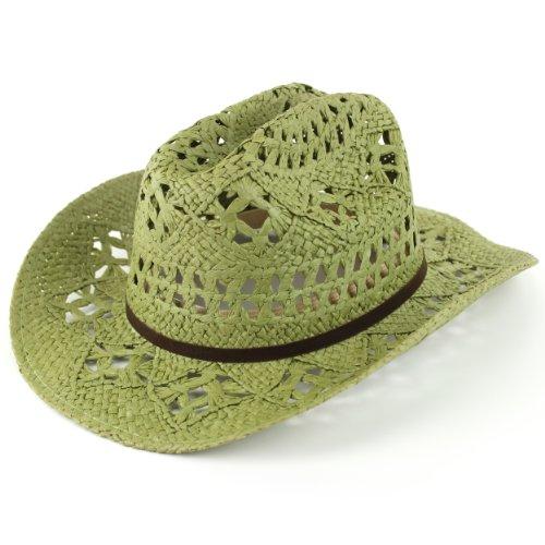 Hawkins - Chapeau western - Homme Vert Vert Taille unique