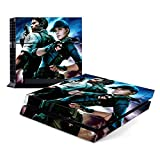 Decorative Video Game Skin Decal Cover Sticker for Sony PlayStation 4 Console PS4 - Resident Evil Biohazard Revelations
