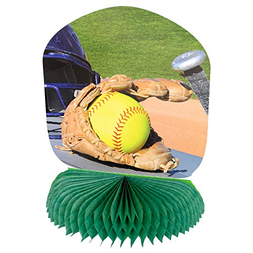 Havercamp Girl's Fastpitch Softball Centerpiece (1) ()
