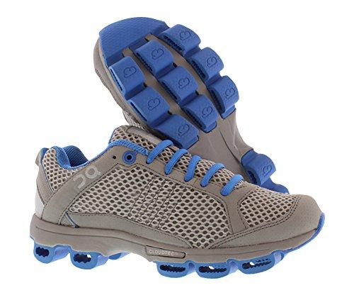 azure On Silver Sneaker Cloudsurfer grey Women's 64nOwqXY