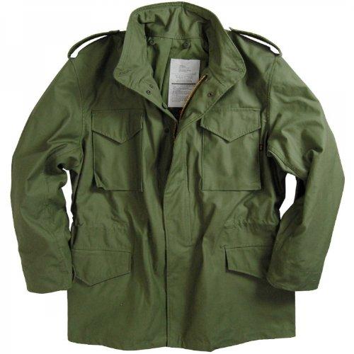 ALPHA INDUSTRIES M-65 NYCO フィールドジャケット B01JUU52U8 M|オリーブグリーン オリーブグリーン M