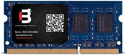 Blackpcs MD116O1-4GB 4GB DDR3 1600MHz módulo de - Memoria (4 GB, 1 x 4 GB, DDR3, 1600 MHz, 204-pin SO-DIMM, Azul)