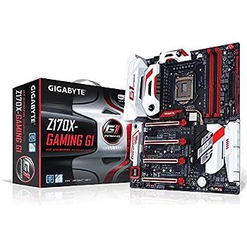 GIGABYTE LGA 1151 Intel Z170 HDMI SATA 6Gb/s USB 3.1 USB 3.0 E-ATX Intel Motherboard GA-Z170X-Gaming G1