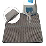 Cat Litter Trapper,Foonee 2-Layer Honeycomb Large Cat Litter Mat with Waterproof/Urine Proof Material