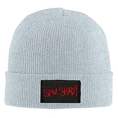 TNJE Eminem Unisex Knit Beanie Cap Hat Ash