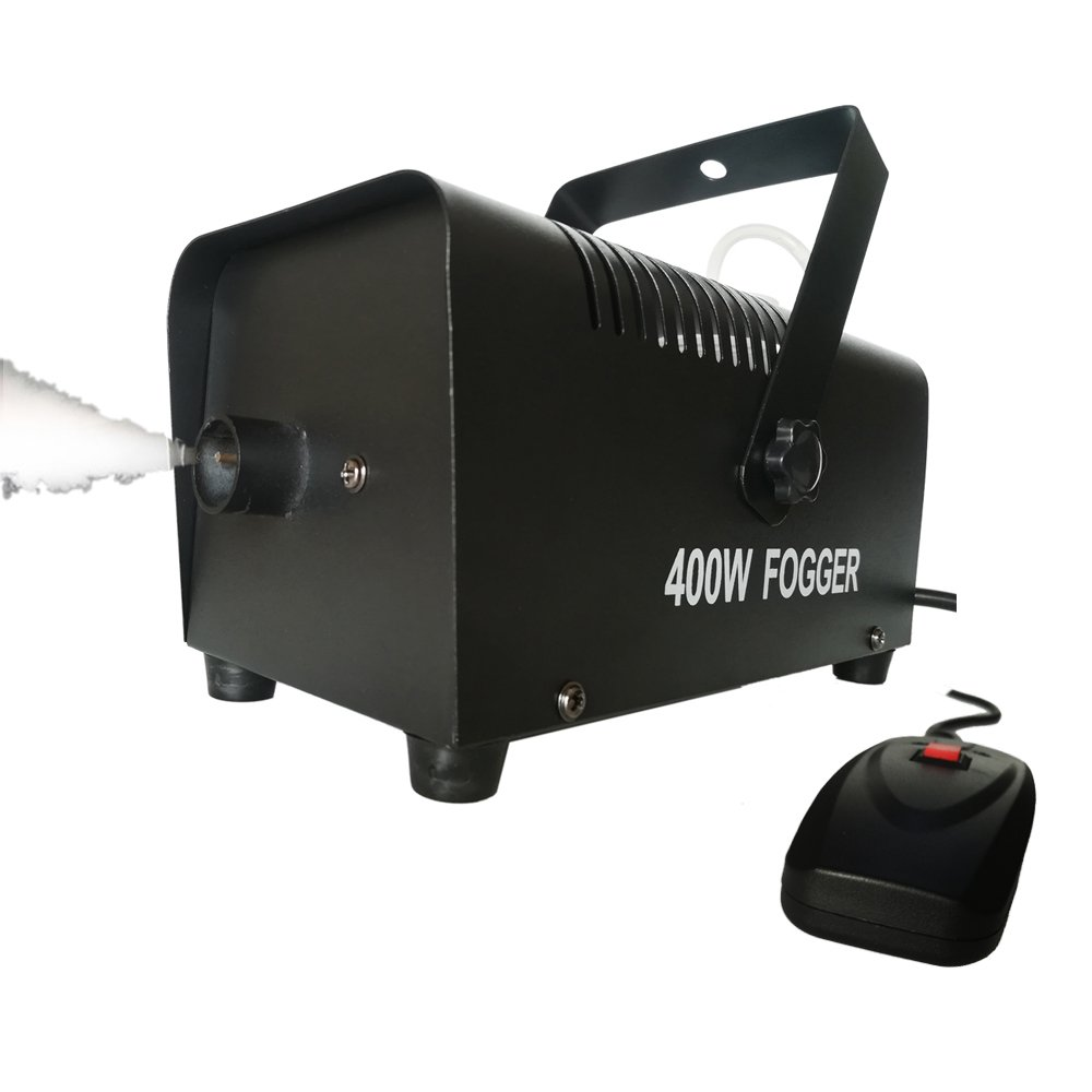 New 400 Watt Fog Machine Spooky Halloween Remote Control Stage Effects