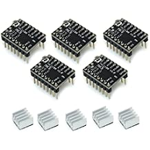 Witbot StepStick MKS TMC2100 stepper motor driver Ultra-silent With Heatsink for 3D Printer(Pack of 5pcs)