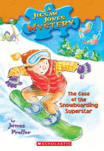 Snowboarding Superstar Jigsaw Jones Mystery product image