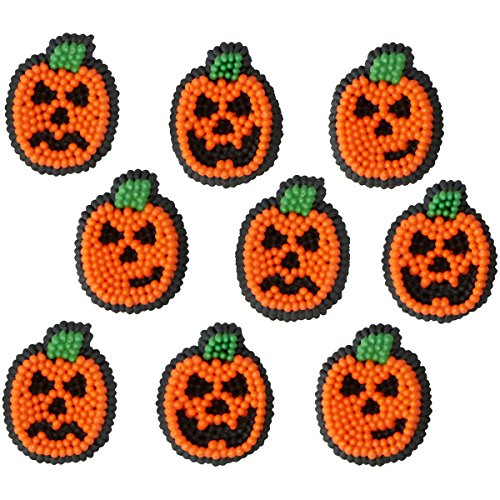 Willton 710-6026 Halloween Pumpkin Jack-O-Lantern Icing