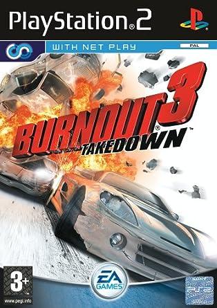 Amazon com: Burnout 3: Takedown (PS2): Video Games